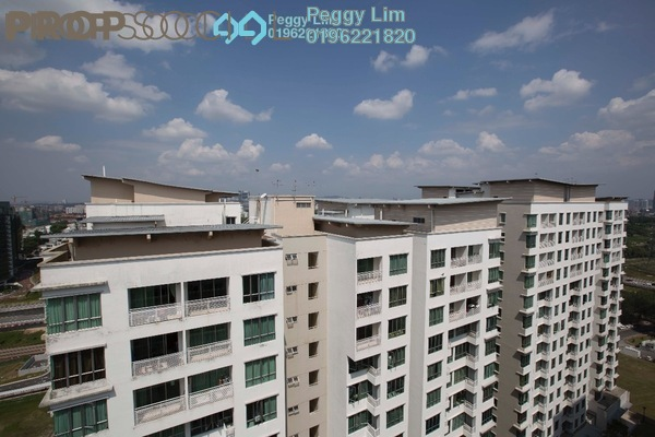For Rent Condominium at Casa Tiara, Subang Jaya Freehold Semi Furnished 3R/2B 1.8k