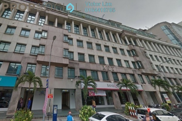 For Rent Office at Wisma RKT, Dang Wangi Freehold Fully Furnished 0R/0B 5.8k