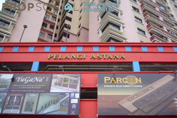 For Sale Condominium at Pelangi Astana, Bandar Utama Leasehold Fully Furnished 3R/2B 610k