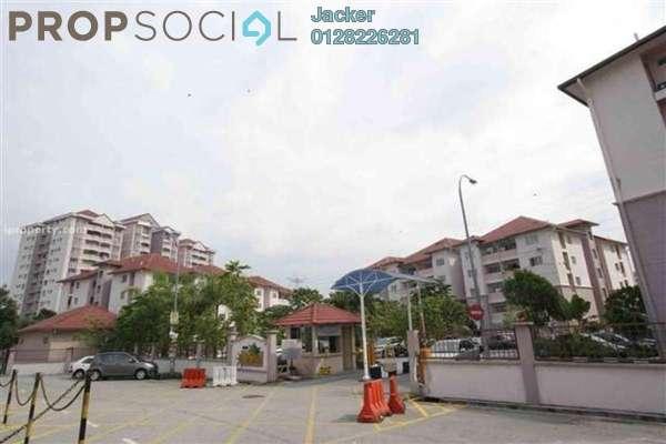 For Rent Condominium at Desa Saujana, Seri Kembangan Freehold Semi Furnished 3R/2B 1.5k
