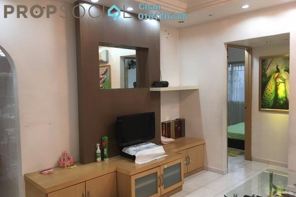 For Rent Apartment at Taman Pekaka, Sungai Dua Freehold Semi Furnished 3R/2B 1.5k