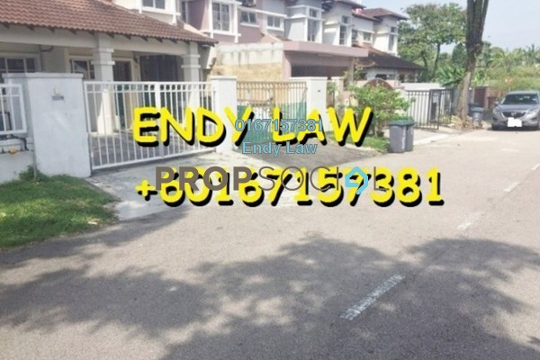 For Sale Terrace at Jalan Sungai Besi, Kuala Lumpur Freehold Semi Furnished 4R/3B 445k