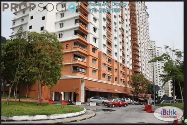 For Rent Condominium at Flora Damansara, Damansara Perdana Leasehold Semi Furnished 3R/2B 950translationmissing:en.pricing.unit