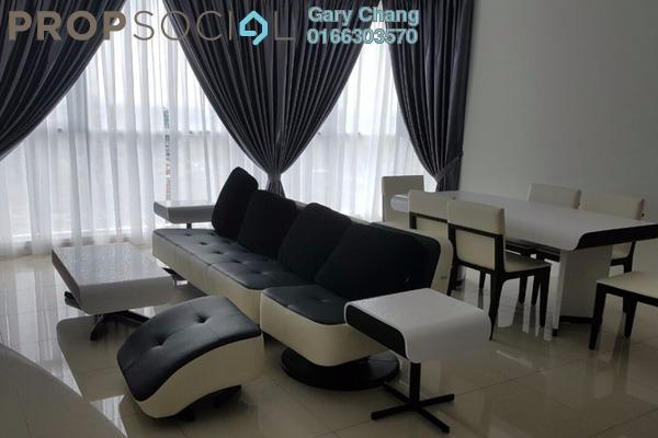 For Rent Serviced Residence at Uptown Residences, Damansara Utama Freehold Fully Furnished 2R/2B 4.5k