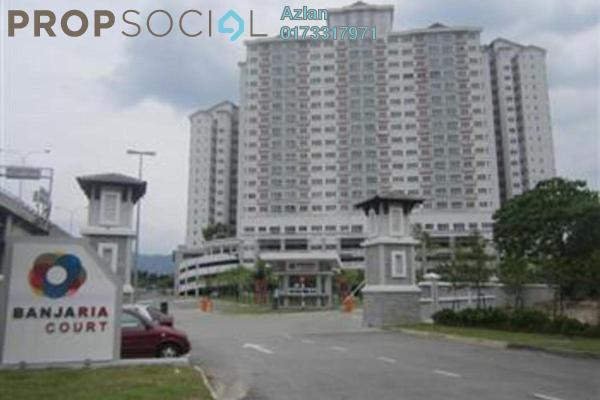 For Sale Condominium at Banjaria Court, Batu Caves Leasehold Unfurnished 3R/2B 400k
