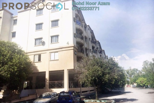 For Sale Apartment at Perdana Apartment, Shah Alam Leasehold Unfurnished 3R/2B 280k