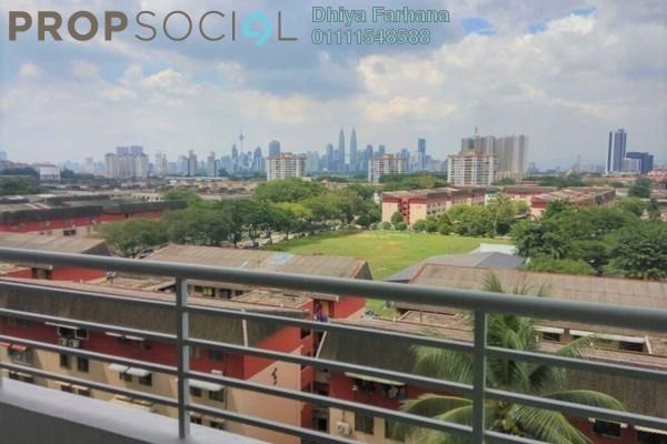 For Sale Condominium at Bayu @ Pandan Jaya, Pandan Indah Leasehold Unfurnished 2R/2B 520k