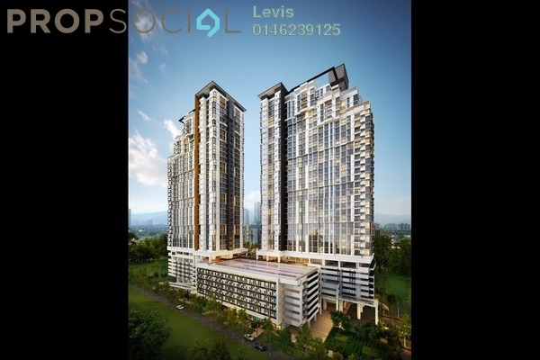 For Rent Condominium at Shamelin Star Serviced Residences, Cheras Leasehold Semi Furnished 3R/2B 1.9k