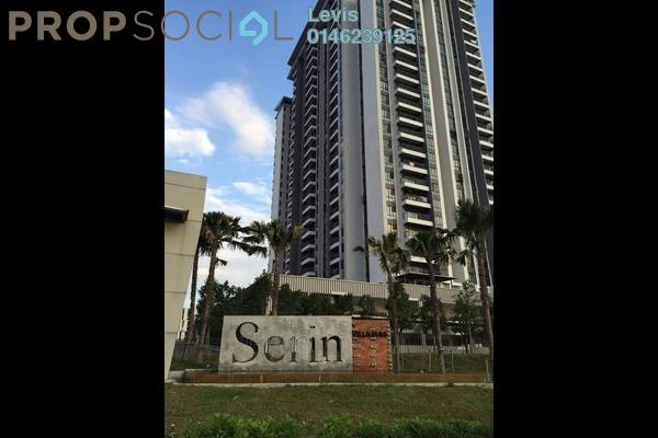 For Rent Condominium at Serin Residency, Cyberjaya Freehold Semi Furnished 3R/2B 1.7k