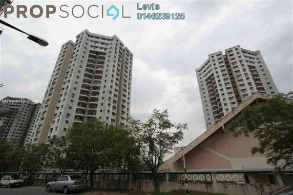 For Rent Condominium at Sri Angsana Hilir, Desa Pandan Leasehold Fully Furnished 3R/2B 1.3k