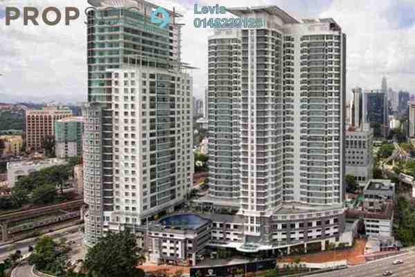 For Rent Condominium at Dua Sentral, Brickfields Freehold Fully Furnished 2R/2B 2.5k