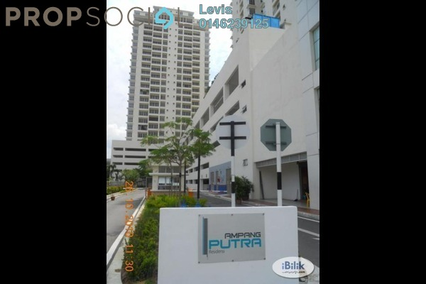 For Rent Condominium at Ampang Putra Residency, Ampang Leasehold Fully Furnished 3R/2B 2.4k