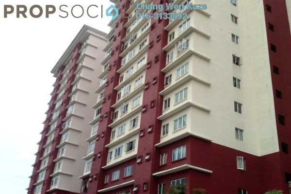 For Sale Condominium at The Lumayan, Bandar Sri Permaisuri Leasehold Fully Furnished 3R/2B 315k