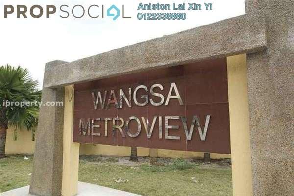For Rent Condominium at Wangsa Metroview, Wangsa Maju Freehold Semi Furnished 3R/2B 1.8k