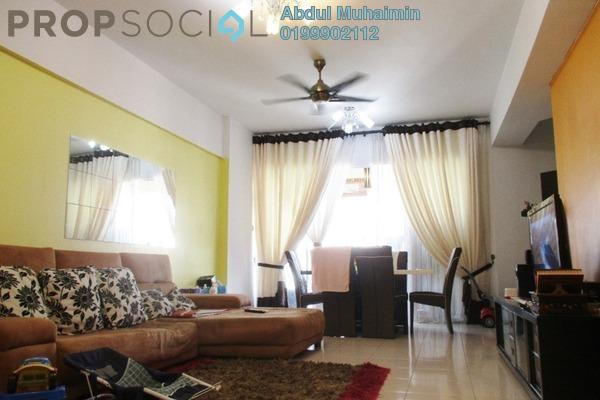For Sale Condominium at Villa Wangsamas, Wangsa Maju Freehold Fully Furnished 3R/2B 530k