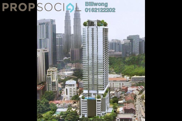For Sale Serviced Residence at Anggun Residences, Dang Wangi Freehold Semi Furnished 1R/1B 835k