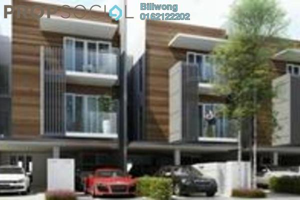 For Sale Townhouse at The Vale II @ Sutera Damansara, Damansara Damai Leasehold Semi Furnished 3R/4B 1.03m