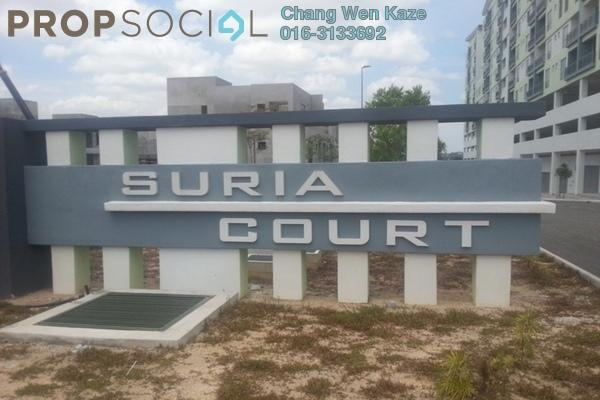 For Sale Condominium at Suria Court, Bandar Mahkota Cheras Freehold Unfurnished 3R/2B 360k
