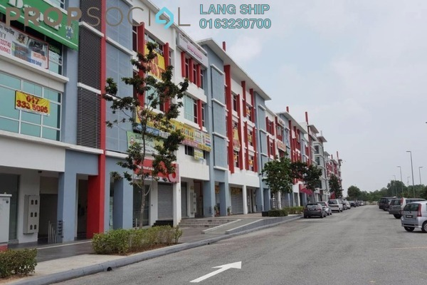 For Sale Shop at The Atmosphere, Bandar Putra Permai Leasehold Unfurnished 0R/2B 550k