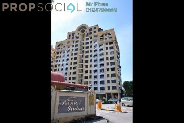 For Rent Condominium at Desa Permai Indah, Sungai Dua Leasehold Fully Furnished 3R/2B 1.5k