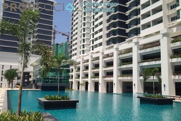 For Rent Condominium at Kiara Residence 2, Bukit Jalil Leasehold Semi Furnished 4R/3B 2.3k