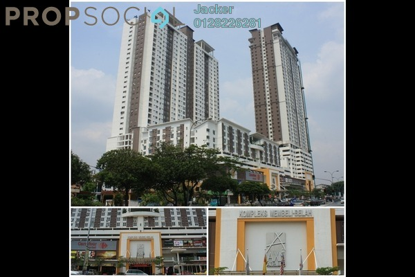 For Rent SoHo/Studio at Axis Residence, Pandan Indah Leasehold Fully Furnished 1R/1B 1.6k