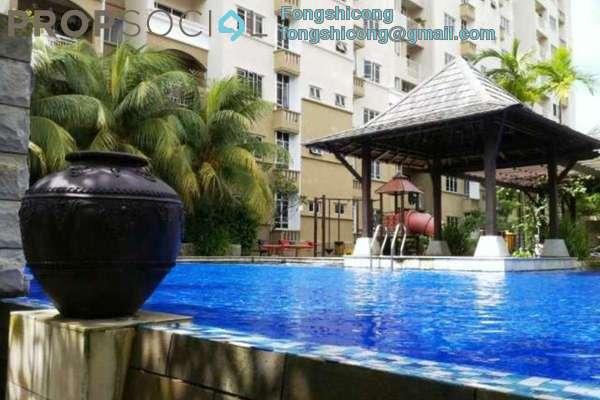 For Rent Condominium at Casa Villa, Kajang Freehold Semi Furnished 3R/2B 1.3k