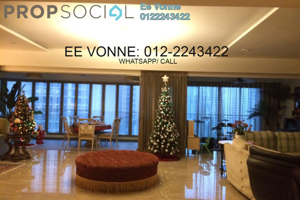 For Sale Condominium at 10 Mont Kiara, Mont Kiara Freehold Fully Furnished 4R/5B 3.8m