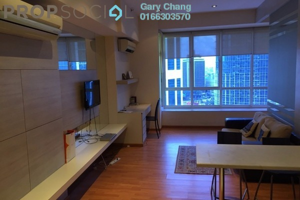 For Rent Serviced Residence at Park View, KLCC Freehold Fully Furnished 1R/1B 2.35k