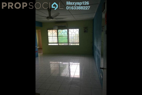 For Rent Apartment at Saujana Apartment, Damansara Damai Leasehold Semi Furnished 3R/1B 1k