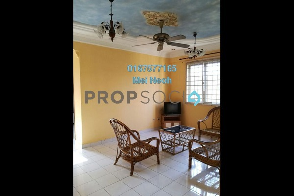 For Rent Apartment at The Aliff Residences, Johor Bahru Leasehold Semi Furnished 3R/2B 1.5k