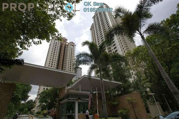 For Sale Condominium at Mont Kiara Pines, Mont Kiara Freehold Semi Furnished 4R/3B 1.7m