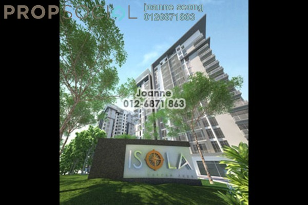 For Sale Condominium at Isola, Subang Jaya Freehold Semi Furnished 3R/4B 1.48m