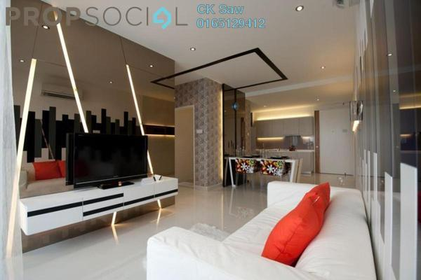 For Rent Condominium at Shamelin Star Serviced Residences, Cheras Leasehold Semi Furnished 3R/2B 1.6k