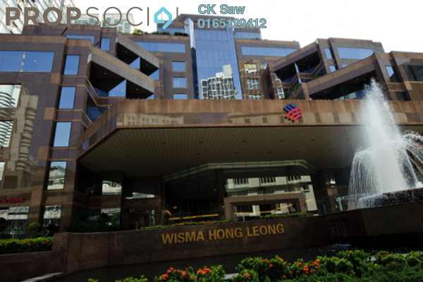 For Rent Office at Wisma Hong Leong, KLCC Freehold Unfurnished 0R/0B 281k