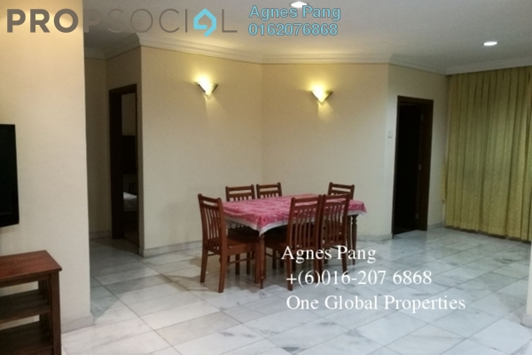 For Rent Condominium at Taman Pelangi, Johor Bahru Freehold Fully Furnished 3R/3B 2.2k