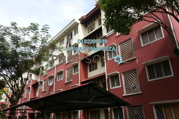 For Rent Apartment at Desa Mutiara Apartment, Mutiara Damansara  Semi Furnished 3R/2B 950translationmissing:en.pricing.unit