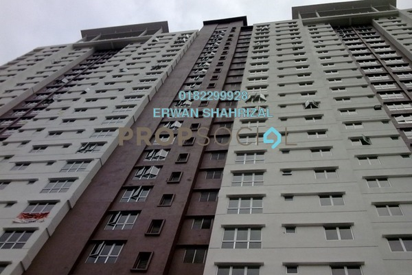 For Sale Condominium at Axis Residence, Pandan Indah Leasehold Semi Furnished 3R/2B 430k