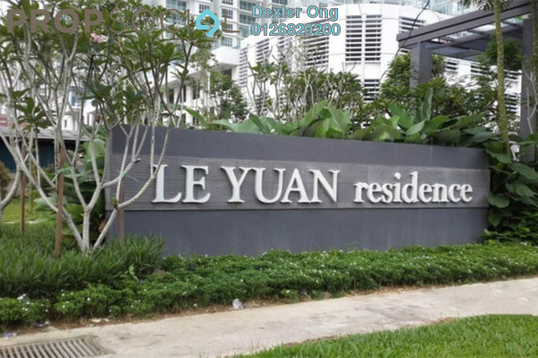 For Rent Condominium at Le Yuan Residence, Kuchai Lama Freehold Semi Furnished 3R/3B 2.5k