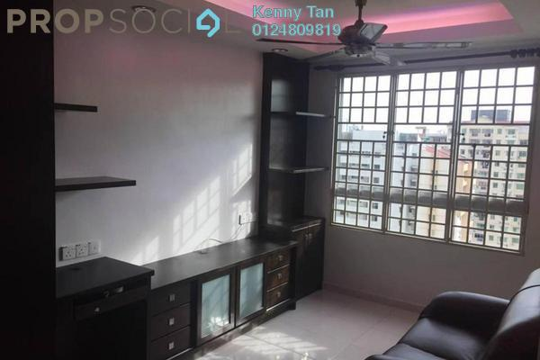 For Sale Apartment at Taman Kheng Tian, Jelutong Freehold Fully Furnished 3R/2B 385k