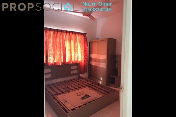 For Rent Condominium at Kristal Heights, Shah Alam Leasehold Semi Furnished 3R/2B 1.3k