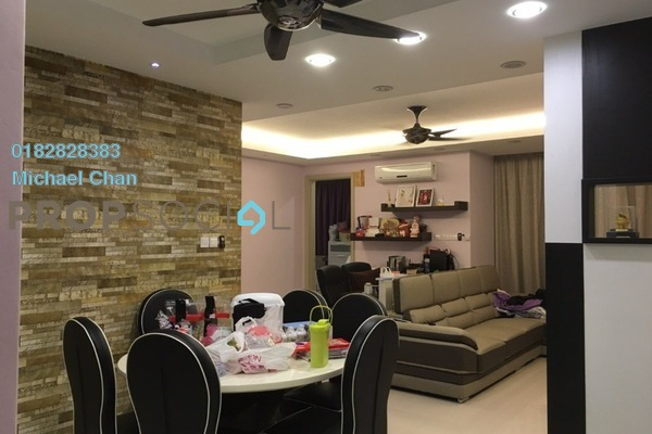 For Sale Condominium at Cheras Heights Condominium, Cheras South Freehold Semi Furnished 3R/2B 670k