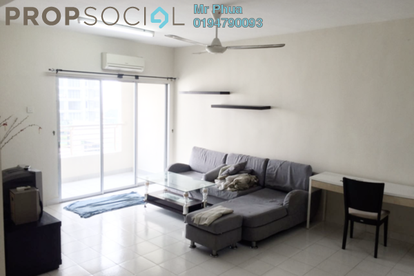 For Rent Condominium at Park View Tower, Butterworth Freehold Fully Furnished 3R/2B 1.2k