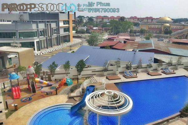 For Rent Condominium at The Signature, Seberang Perai Freehold Semi Furnished 3R/2B 1.8k