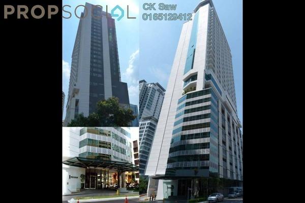 For Rent Condominium at One @ Bukit Ceylon, Bukit Ceylon Freehold Fully Furnished 1R/1B 2.3k