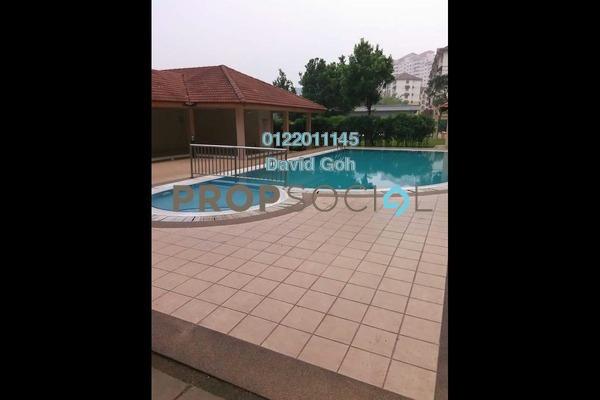 For Rent Apartment at Merak Apartment, Bandar Kinrara Freehold Semi Furnished 3R/2B 1.2k