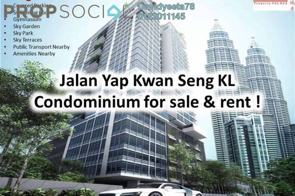 For Rent Condominium at Mirage Residence, KLCC Freehold Fully Furnished 4R/4B 6k