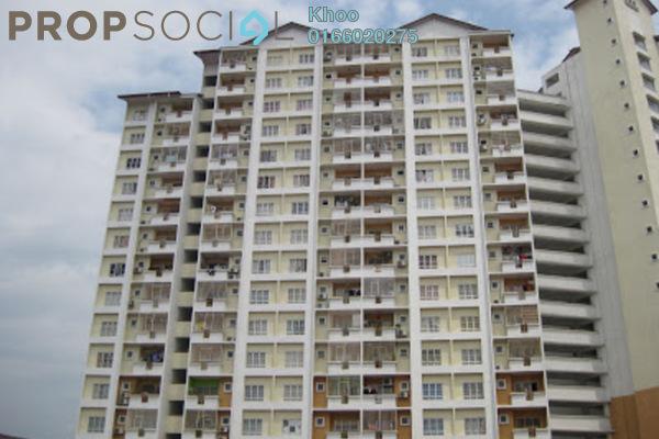 For Sale Condominium at Merdeka Villa, Ampang Leasehold Unfurnished 3R/2B 300k