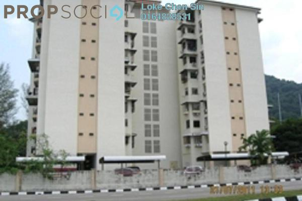 For Rent Condominium at Golf View Apartment, Bukit Jambul Leasehold Unfurnished 3R/2B 1.5k