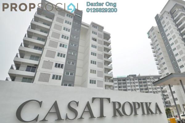 For Sale Condominium at Casa Tropika, Puchong Leasehold Semi Furnished 3R/2B 420k